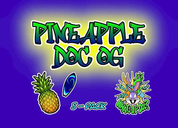 Pineapple Doc OG 5-Pack Collectables