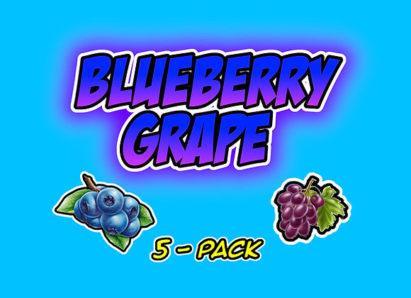 Blueberry Grape 5-Pack Collectables