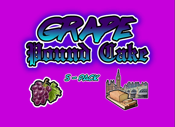 Grape Pound Cake 5-Pack Collectables