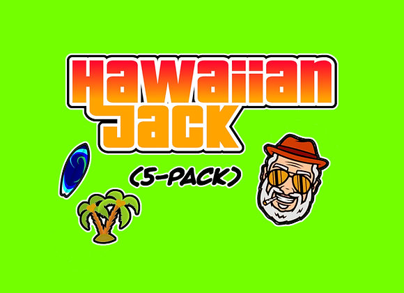 Hawaiian Jack 5-Pack Collectables