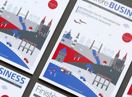 Couverture du Premier Finistère Business Mag