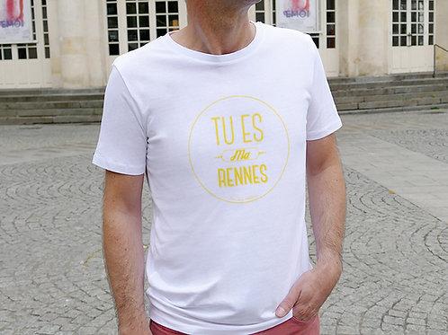 T-shirt Homme | Tu es ma Rennes