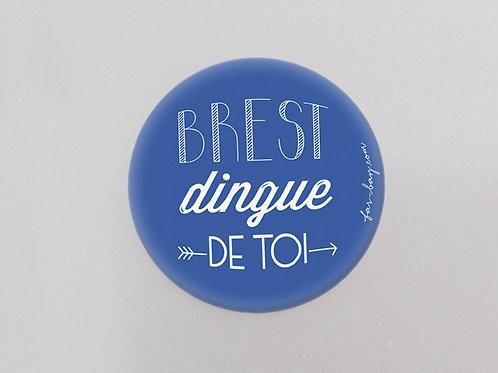 Magnet | Brest dingue de toi