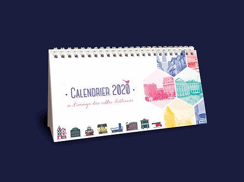 Calendrier 2020 | À l'image des villes bretonnes