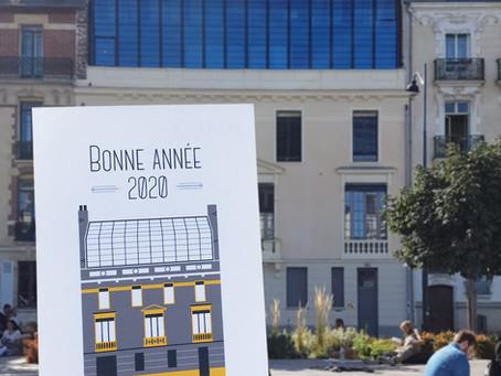 La carte de vœux 2020 de Norac Foods est signée Far bay Éditions !