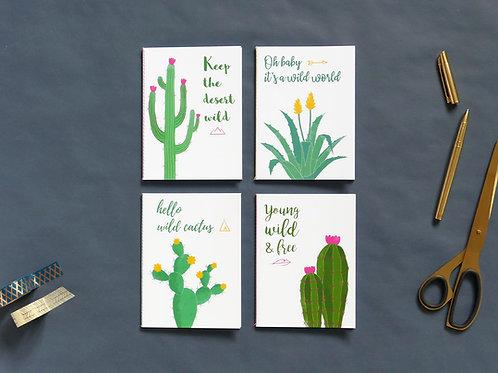 Petits carnets | Set de 4 | Arizona