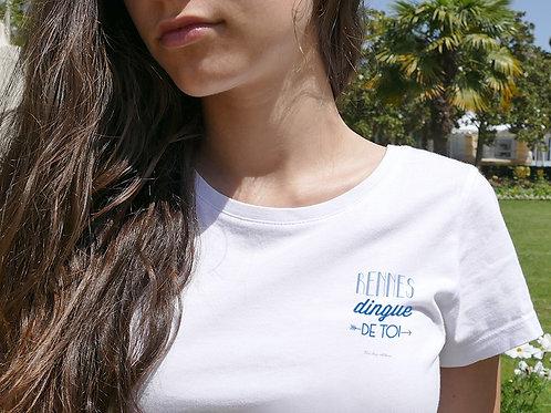 T-shirt Femme | Rennes dingue de toi