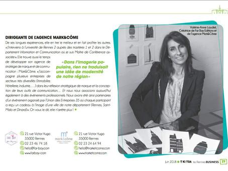 T KI TOA : Portrait de Valérie-Anne Laudet, fondatrice de Far bay Éditions