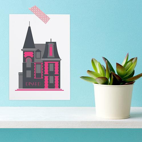 Carte postale Dinard | Villa les Roches Brunes