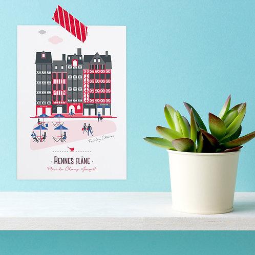 Carte postale | Rennes flâne