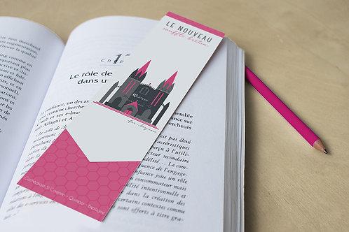 Marque-page Quimper   Cathédrale St Corentin