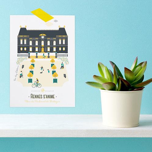 Carte postale | Rennes s'anime
