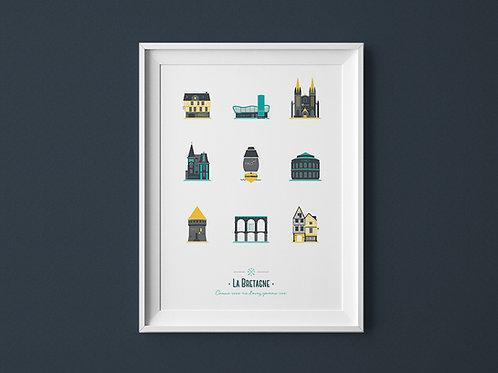 Affiche | La Bretagne