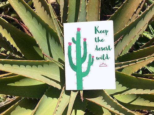 Petit Carnet Arizona | Saguaro