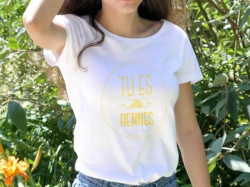 T-shirt Femme | Tu es ma Rennes