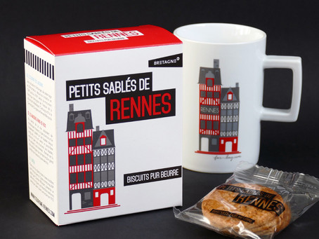 Un packaging à croquer pour l'Office de Tourisme de Rennes !
