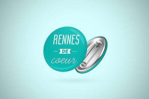 Badge | Rennes de coeur