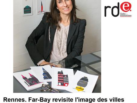 Journal des Entreprises : À Rennes, Far bay revisite l'image des villes bretonnes