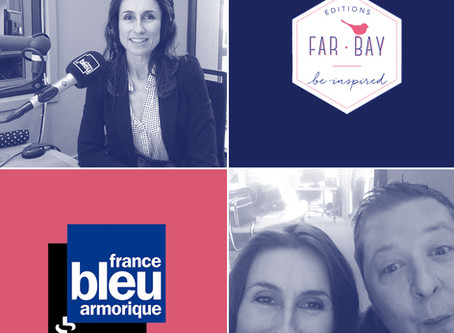France Bleu Armorique : Far bay Éditions sur les ondes bretonnes