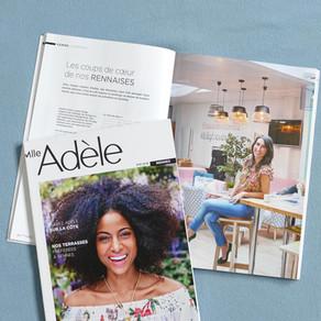Mlle Adèle: Far bay dans le numéro d'été vitaminé
