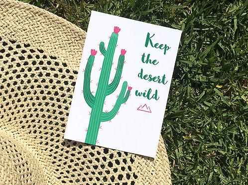 Carte postale Arizona   Saguaro
