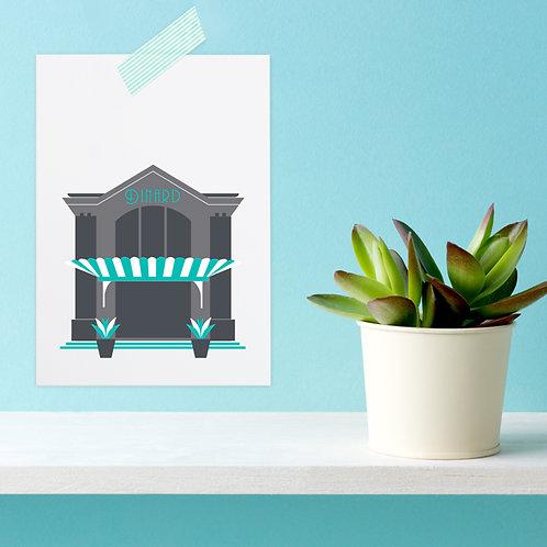 Carte postale Dinard | Casino
