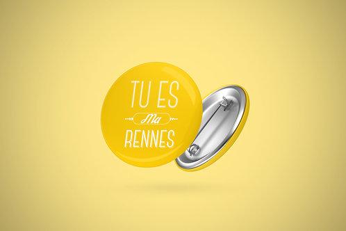 Badge | Tu es ma Rennes