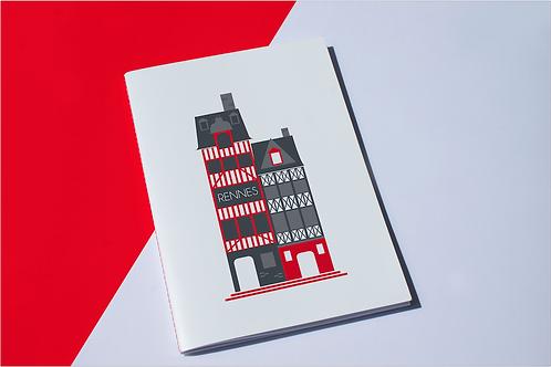 Cahier Rennes | Maison à colombages