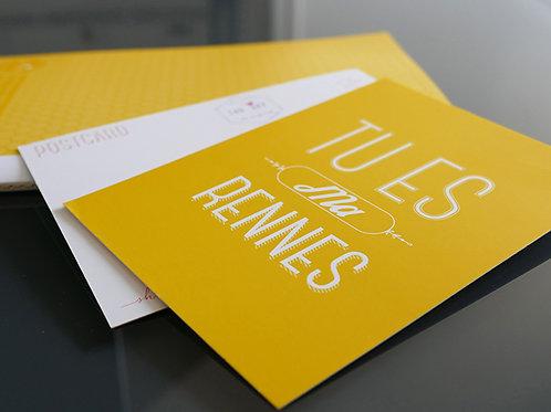 Carte postale | Tu es ma Rennes