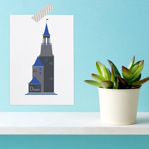 Carte postale Dinan | Tour de l'Horloge