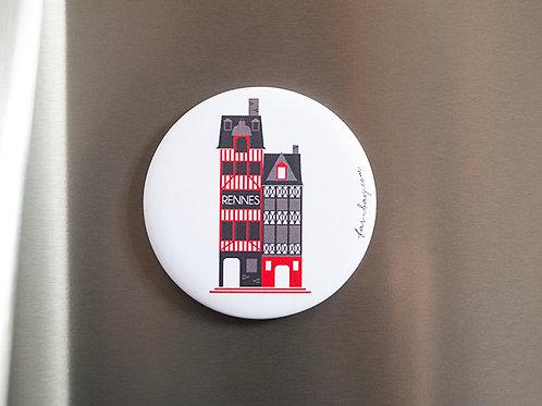 Magnet Rennes | Maison à colombages