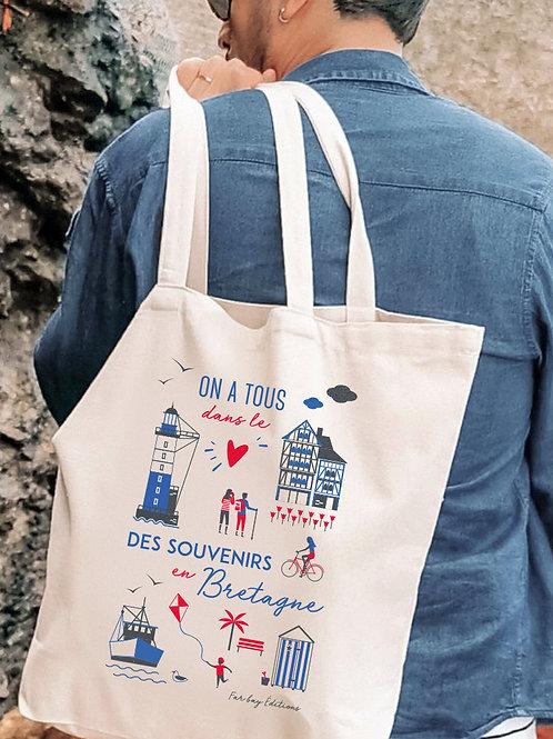 Tote bag | Souvenirs en Bretagne