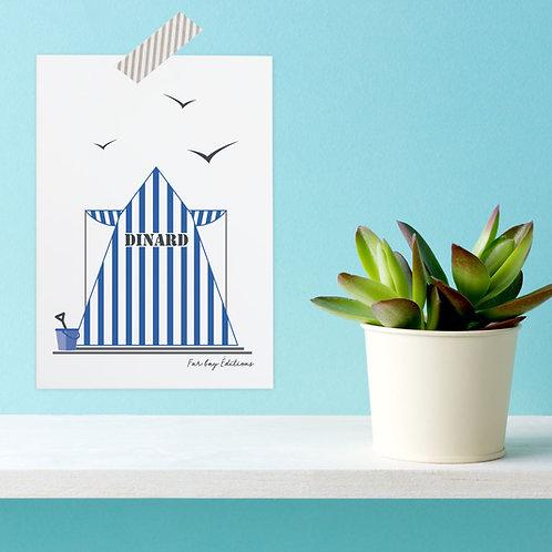 Carte postale Dinard | Tente mythique