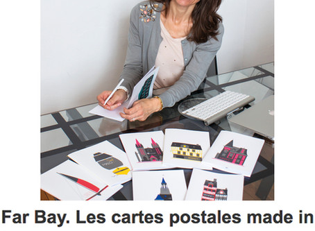 "Ouest France : ""Far bay, les cartes postales made in Rennes"""