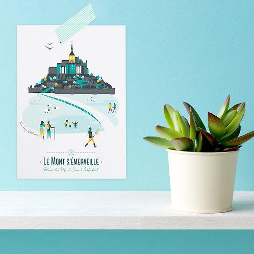 Carte postale | Le Mont s'émerveille