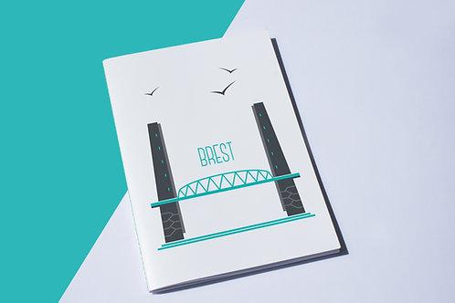 Cahier Brest   Pont de Recouvrance