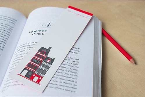 Marque-page Rennes | Maison à colombages