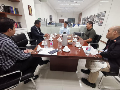 Sept.15, 2020 Courtesy Visit to Sen.Gatchalian and Nissan Test Drive with Mr.Najima, NPI President and Mr.Edmund Araga, eVAP President #goEV