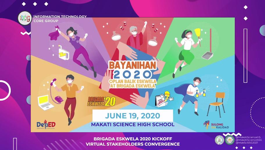 Brigada Eskwela 2020 Opening Ceremony