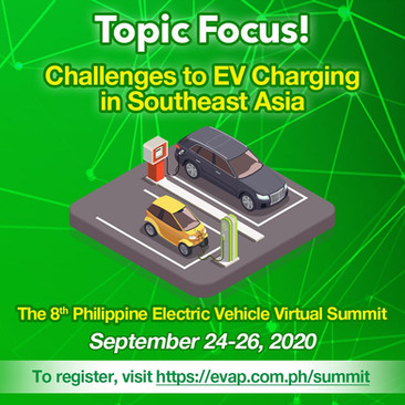 Is the Philippines ready for electric vehicle technology? Find out at the 8th Philippine Electric Vehicle Virtual Summit!   Register Now: www.evap.com.ph/summit ✍🏻 The event is ABSOLUTELY FREE!