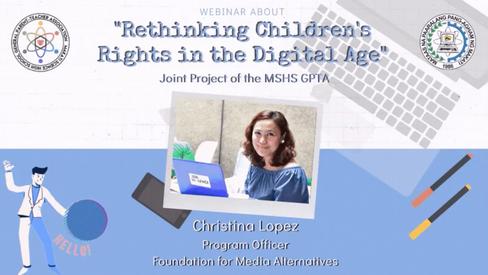 Rethinking Children's Rights in the Digi