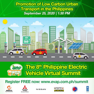 Everyone knows that EV technology decreases the amount of emissions. How much exactly though?  Find out at the 8th Philippine Electric Vehicle Virtual Summit on Sept 24 - 26. 2020 ✅  Register here: http://evap.com.ph/summit  FREE ADMISSION!