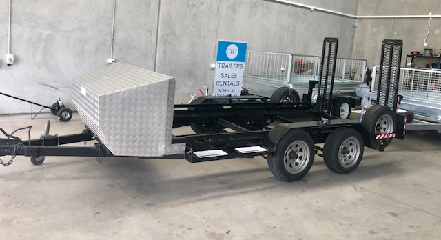 Car trailer two