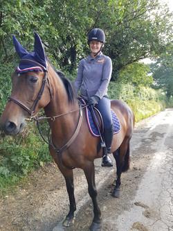 Me & My beautiful horse, Kizzie