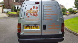 All About Pets Van
