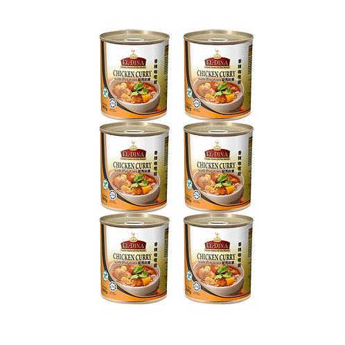 [Bundle of 6] EL-Dina Chicken Curry with Potatoes