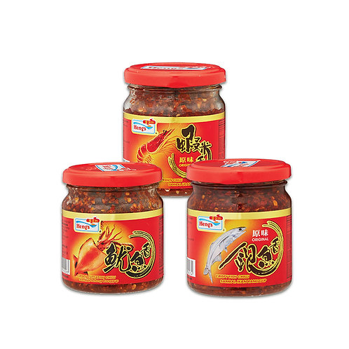 Heng's Crispy Chilli [Bundle of 3] Halal