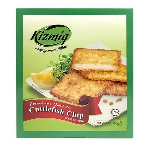 [Frozen] Kizmiq Cuttlefish Chip 500g Halal