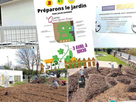 Les Incroyables Comestibles® : Préparons le jardin