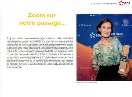 Article de presse - Magazine Le Monde N°430 - 14 dec. 2019